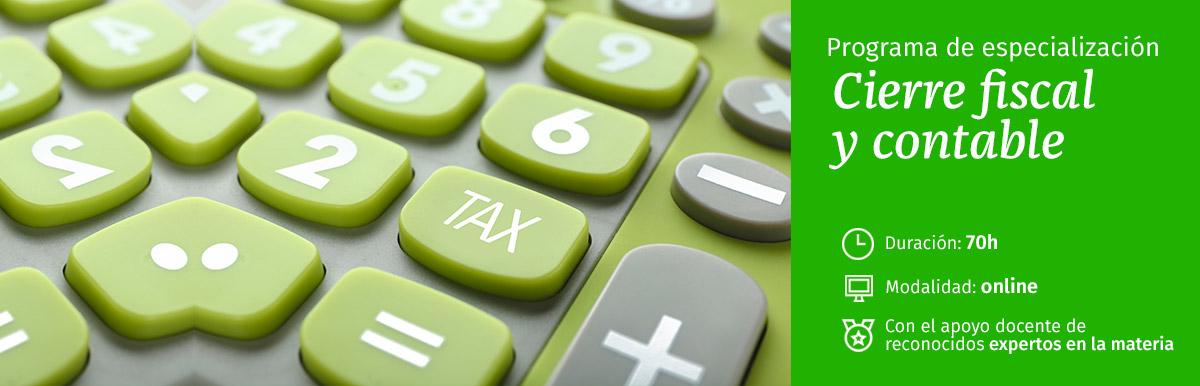 Curso Cierre fiscal y contable