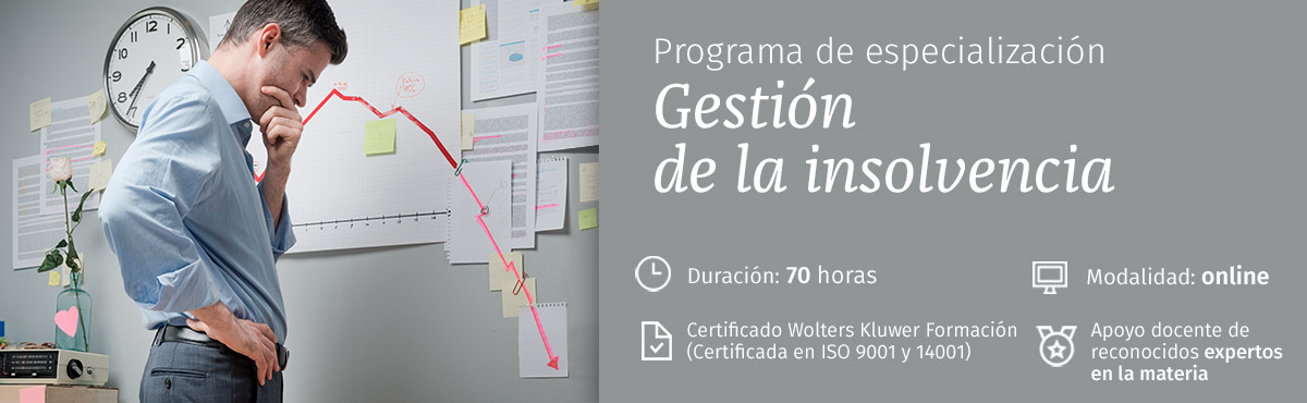 Programa gestión de la insolvencia