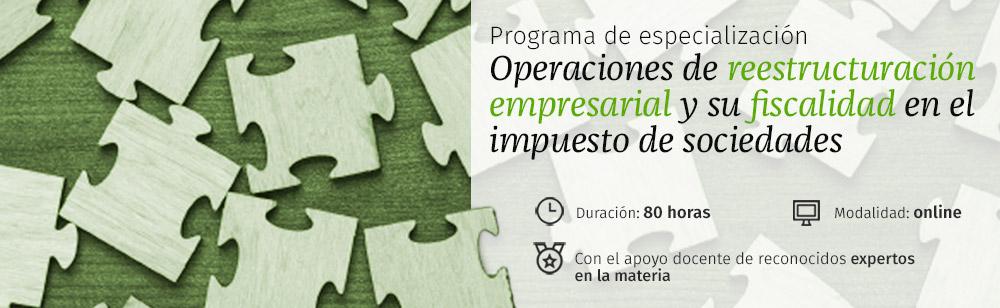 Programa de especialización