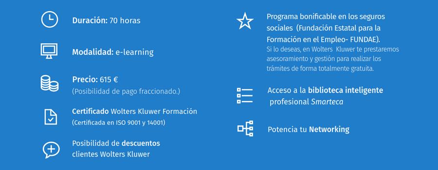 Características del curso